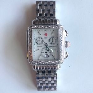 Michele Watch, Deco with Diamonds